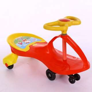CHILDREN'S TWIST CAR WALKER TOY CAR CAN BE A MAN SWING CAR