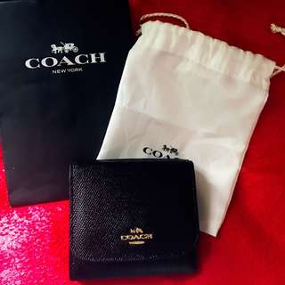 Coach Small Wallet 短款銀包