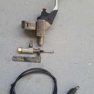 Magura hydraulic clutch