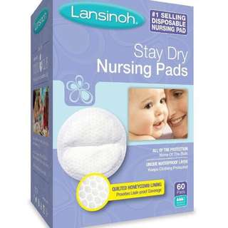 Lansinoh Stay Dry Disposable Nursing Pads, Number One Selling Breastfeeding Pad For Breastfeeding Mothers, Leak Proof Protection, Maximun Comfort and Discretion