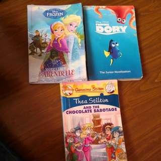 3 Books &$10