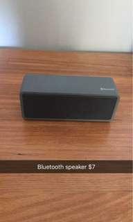 Bluetooth grey speaker
