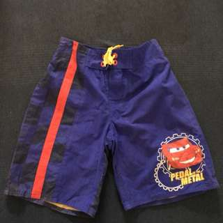 Disney Store Board Shorts for boys (size 7-8)