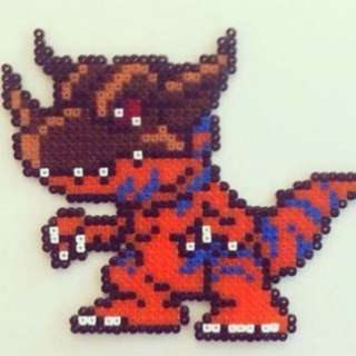 Digimon Hama Bead Designs