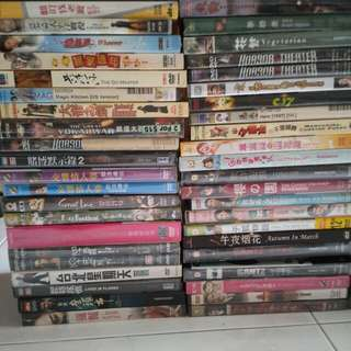 Original DVDs Clearance Sale (HK, China, Japanese, Korean Movies DVDs)