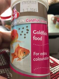 Goldfish Food for Colouration