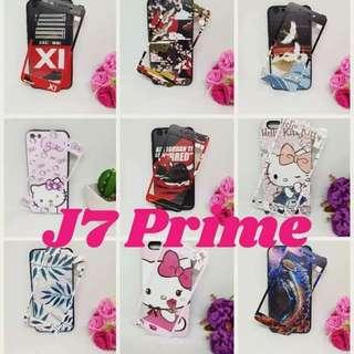 Back Case w/ Tempered J7 Prime