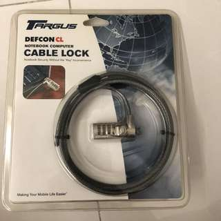 Targus  Defcon CL Notebook cable lock Brand New Laptop