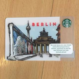 Starbucks card Berlin desjgn