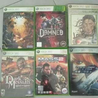 Instock Xbox 360 Games