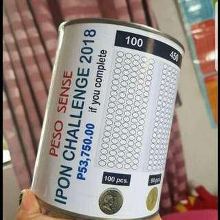 Peso Sense Ipon Challenge Alkansya