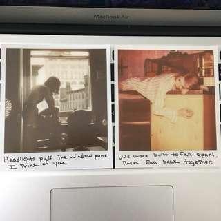Taylor swift 1989 polaroid