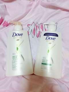 New Dove Hair Shampoo & Cond ( for Hair Fall )
