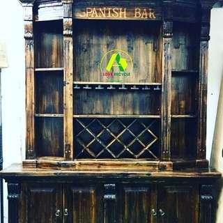#愛回收~#松木酒櫃(仿古設計)全新傢俬 #取貨位置~#火炭大隻佬取貨(運輸費另議)#whatsapp📲91955868