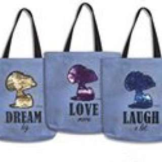 Innisfree Snoopy tote * limited ed*