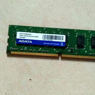 adata ddr3 1333(9) 2G X16 U-DIMM