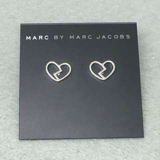 Marc Jacobs Sample Earrings 銀色心碎耳環