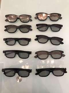 3D眼鏡1副