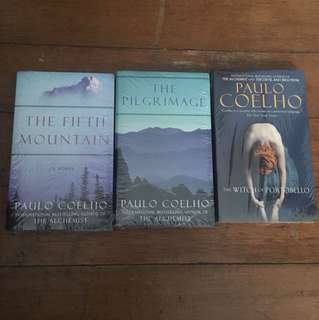 Six Paulo Coehlo books for P800!
