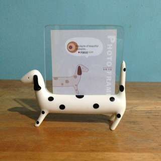Standing Dalmatian Dog Photo Frame