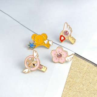 Card Captor Sakura Enamel Pins