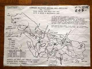 Old Pulau Ubin Map