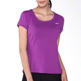BNWT Nike Women's Dri-FIT Contour Running Tee (Size M)
