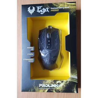 PROLiNK PMG9501 EGA Illuminated Gaming Mouse with 8-Programmable Buttons