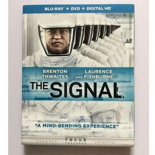 The Signal Blu Ray + DVD