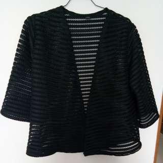BnL Outter Kimono Black