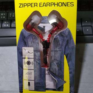 🚚 ZIPPER EARPHONES耳機