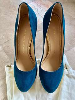 PRELOVED AUTHENTIC CHARLOTTE OLYMPIA HEELS