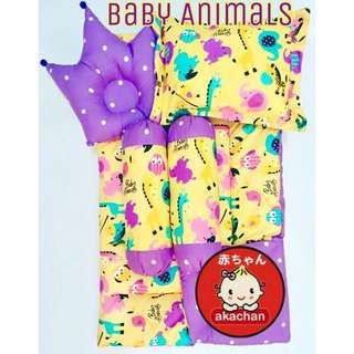 Beby bedding set Baby Animals