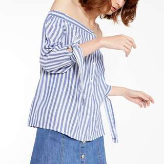 Pomelo fashion stripe sabrina