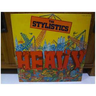 The Stylistics Vinyl LP Record Heavy