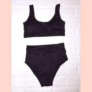 Swimsuit (Sporty black)