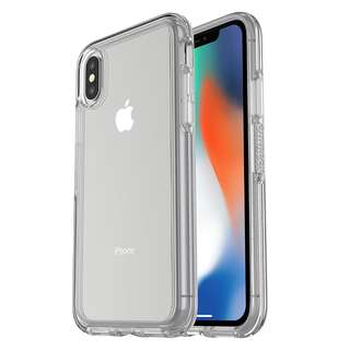 Original OtterBox SYMMETRY CLEAR SERIES Case for iPhone X