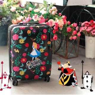 韓國代購 迪士尼Alice in Wonderland愛麗絲夢遊仙境 20吋的旅行喼