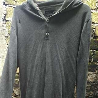 Jaket Sweater Abu Polos