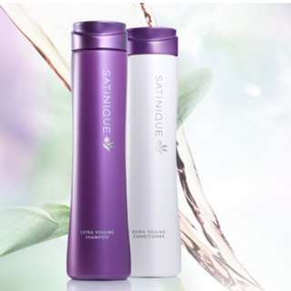 Satinique EXTRA Volume Shampoo & Conditioner set
