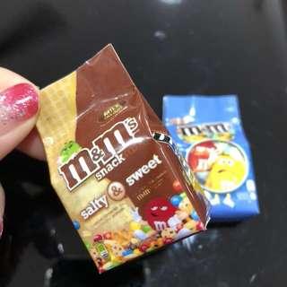 3D Realistic Miniature Magnet - M&M Salty & Sweet