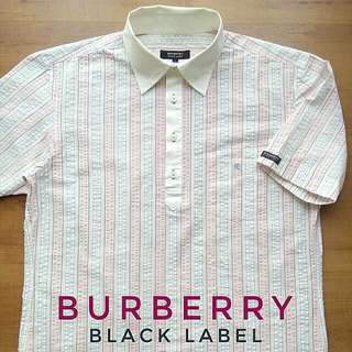 "Authentic Polo "" BURBERRY "" Black Label For Unisex, Mint / Material Cotton. Size ( M ) Pit 20"" X 28""L. WhatsApp : 011 33390582. Price rm 88.00 + Postage."