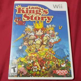 Wii Game The Little Kings story