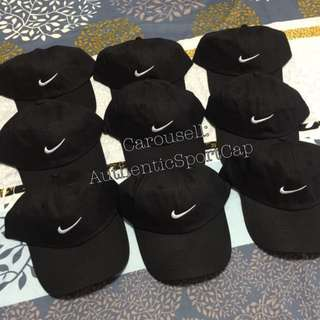 Ready stock Authentic Nike Baseball Cap Black