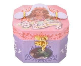 日本 Disney Store 直送長髮公主 Rapunzel 音樂儲物盒