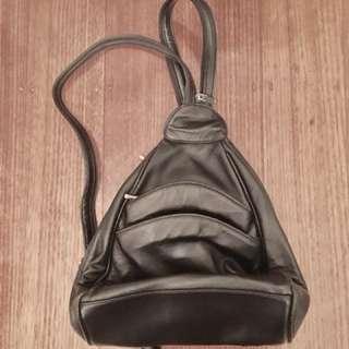 Black Emilio Santi backpack