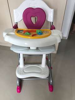 Kids baby chair preloved condition 8.5/10 music in working condition
