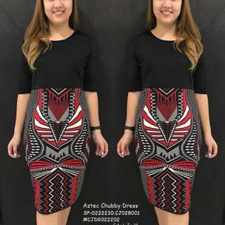 AZTEC CHUBBY DRESS