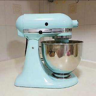 #FIXED PRICE Kitchenaid Artisan KM 150 Mixer (Tiffany Blue) (Nt Delonghi )