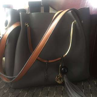 Tas BELLEZZA grey